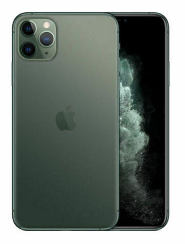 Apple Iphone 11 pro 64 GB Green. DHL Rechnung 19% MWST **Wie Neu**