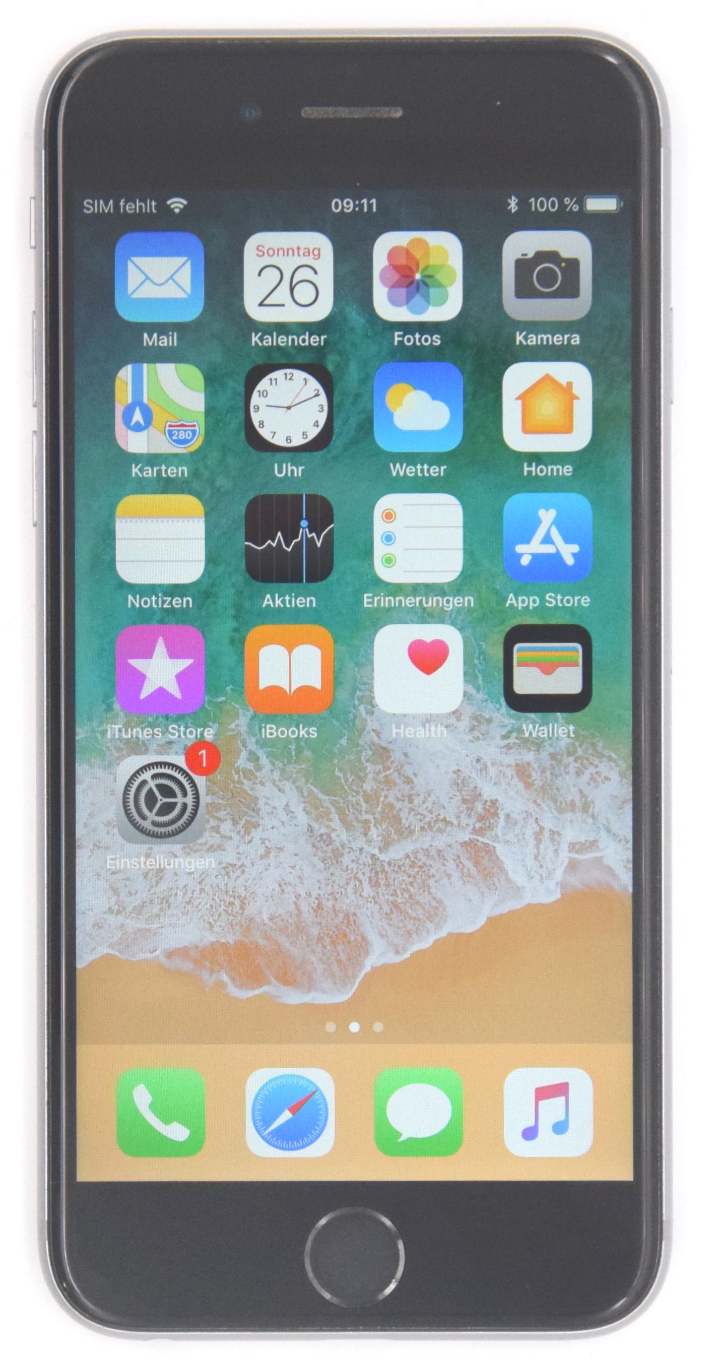 Apple Iphone 6s 64 GB Space Gray DHL Rechnung 19% MWST **Wie Neu**