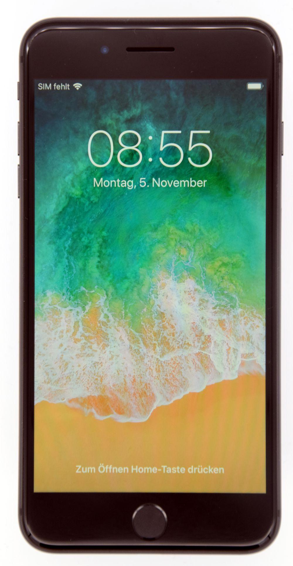 Apple Iphone 8 plus  64 GB Space Gray DHL Rechnung 19% MWST **Wie Neu**